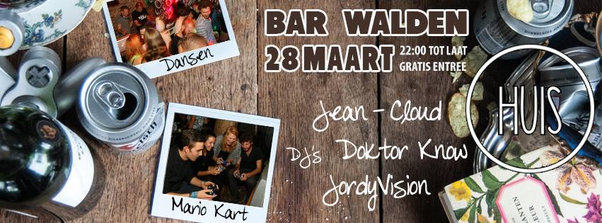 HUIS Edition 2 at Bar Walden Utrecht