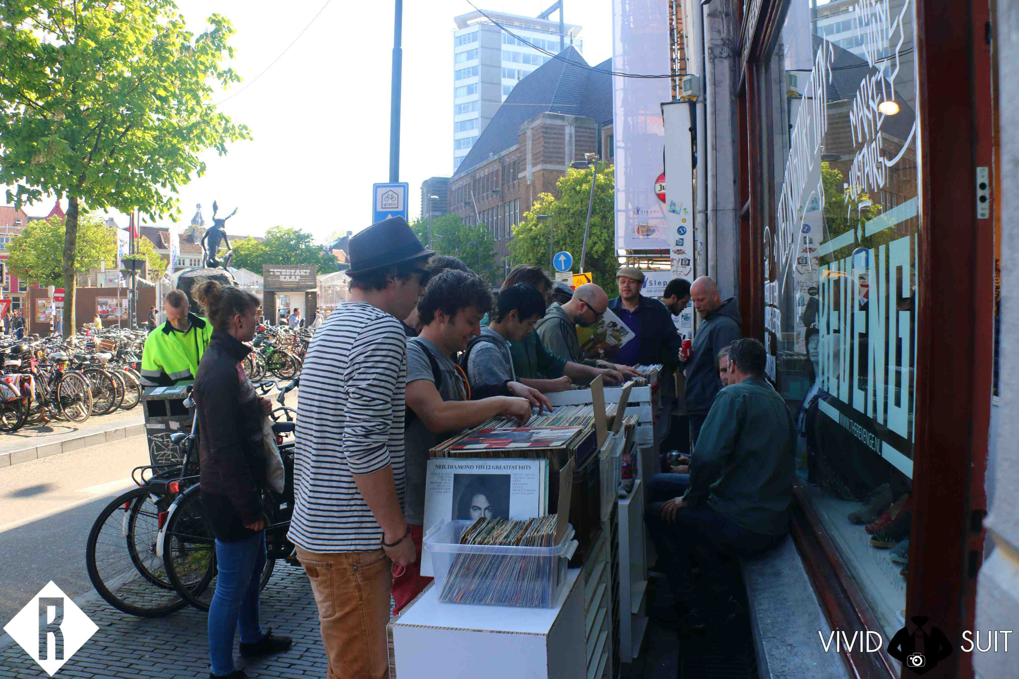 Record Store Day at Revenge, picture by Vivid Suit