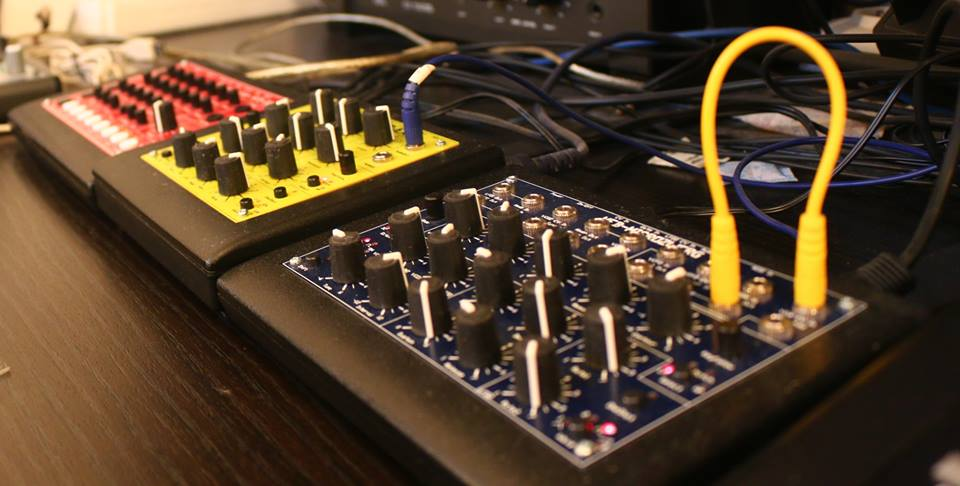 MFB synthesizers, picture by Vivid Suit