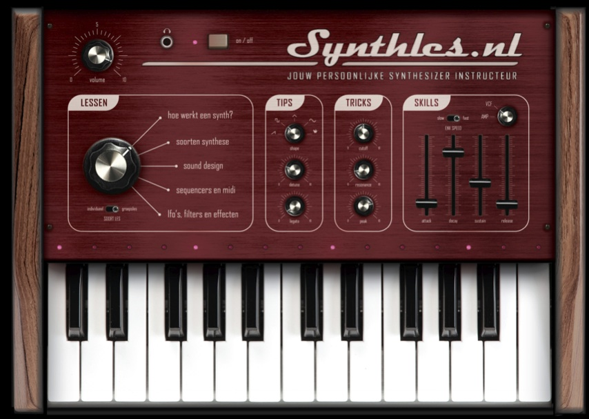 SynthLes flyer By Bureau Sculptaal